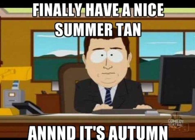 20+ Best First Day of Fall Funny Memes & Images to Get ...